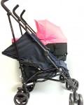 silla gemelar con silla y capazo dy da dos con cuña-alza