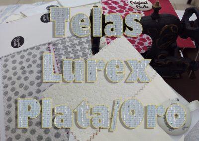 TEJIDOS CON HILO DE PLATA Y ORO